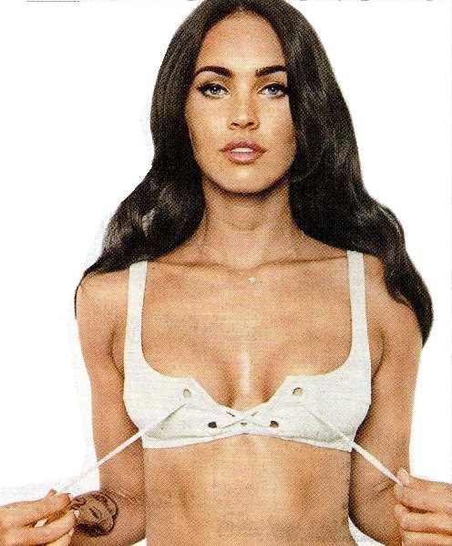 隆乳不是將乳房變大就好,像梅根這樣的假奶太過明顯,不好看