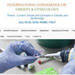 2018 羅馬「肥胖與婦科學」國際大會邀請邱正宏醫師演講