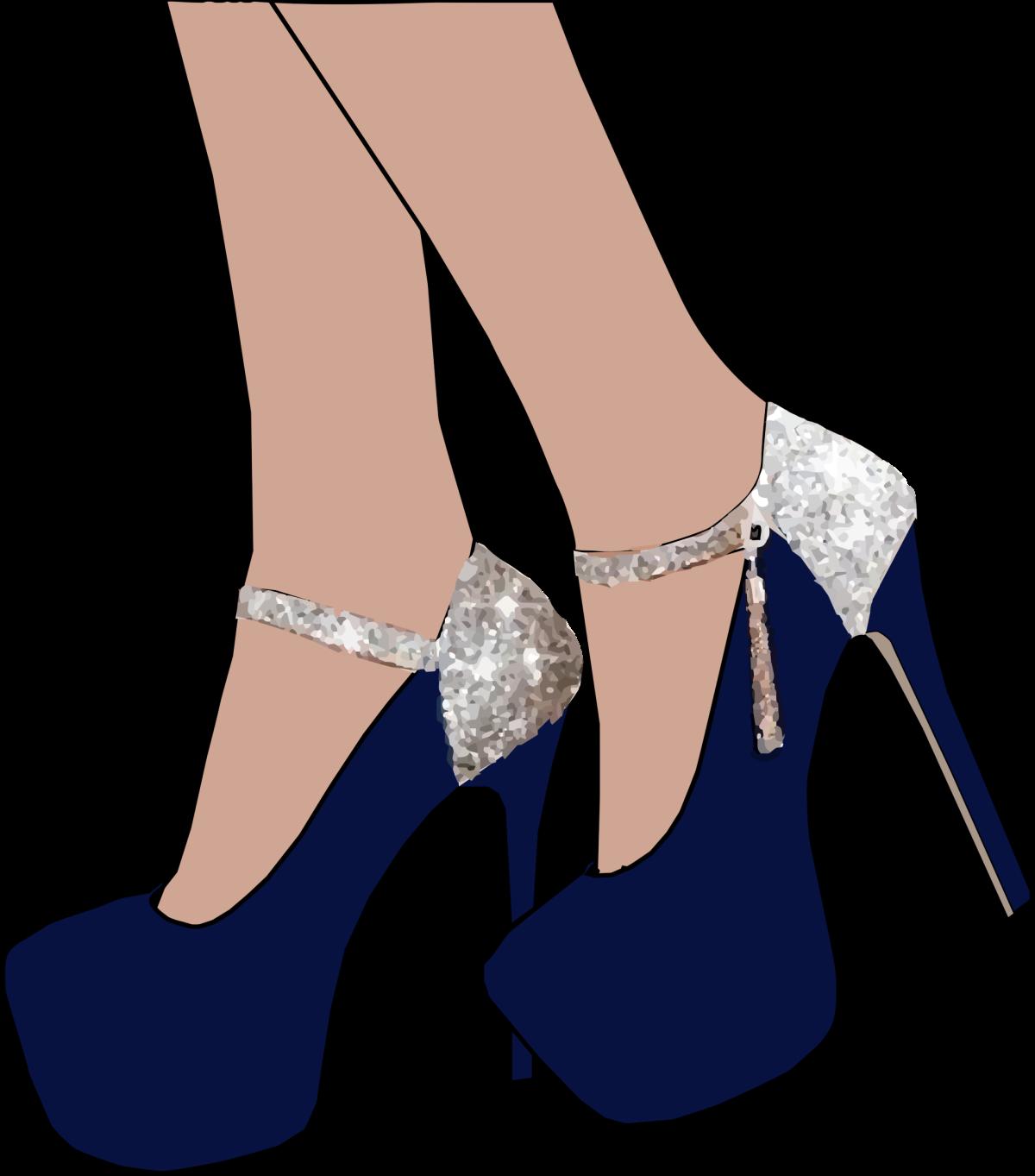 改穿厚底高跟鞋可減少小腿變粗的機會