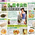 五類食物熱量低
