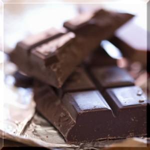 常吃黑巧克力 冠狀動脈心臟病少一些。