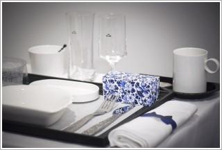 ▲白色餐具,特別是重量重,厚度大的白色餐具,給人食物美味的感覺,對減肥是最不利的。
