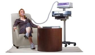「新陳代謝儀」是藉由呼吸中的氧氣含量來計算一個人的新陳代謝