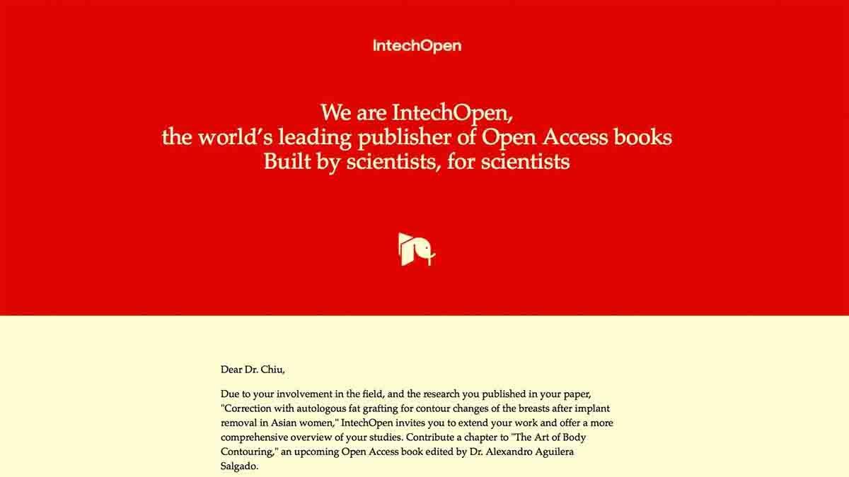 英國出版社邀請邱醫師撰寫「抽脂體雕」教科書章節