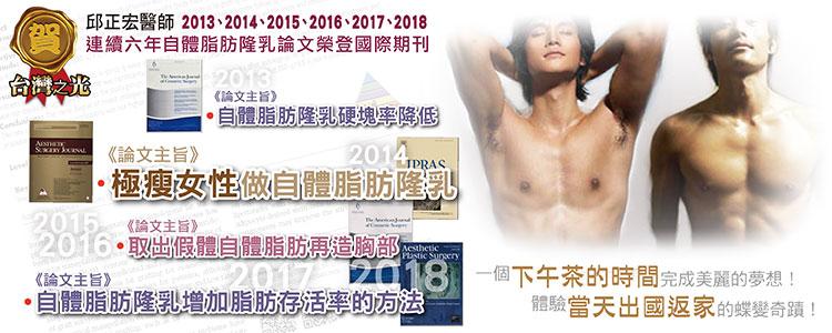 男性女乳症,台北溶脂醫美邱正宏醫師的男性女乳治療