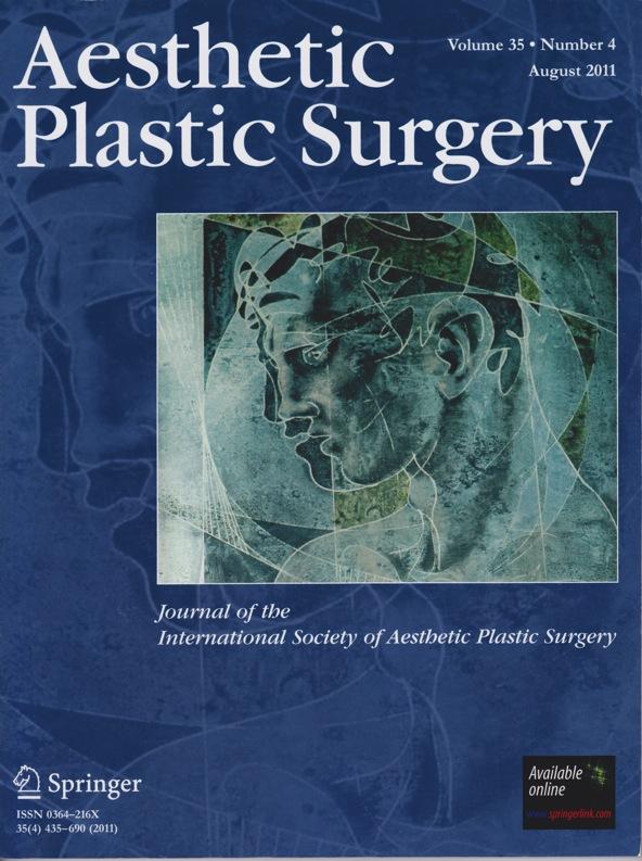 『美容整形外科』醫學期刊再度來函邀請擔任論文審稿人