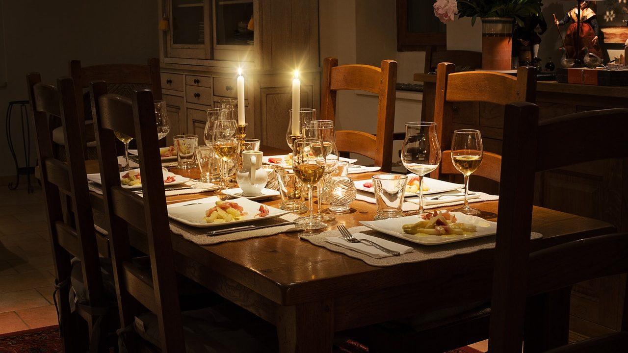 減肥而不敢享受燭光晚餐嗎?