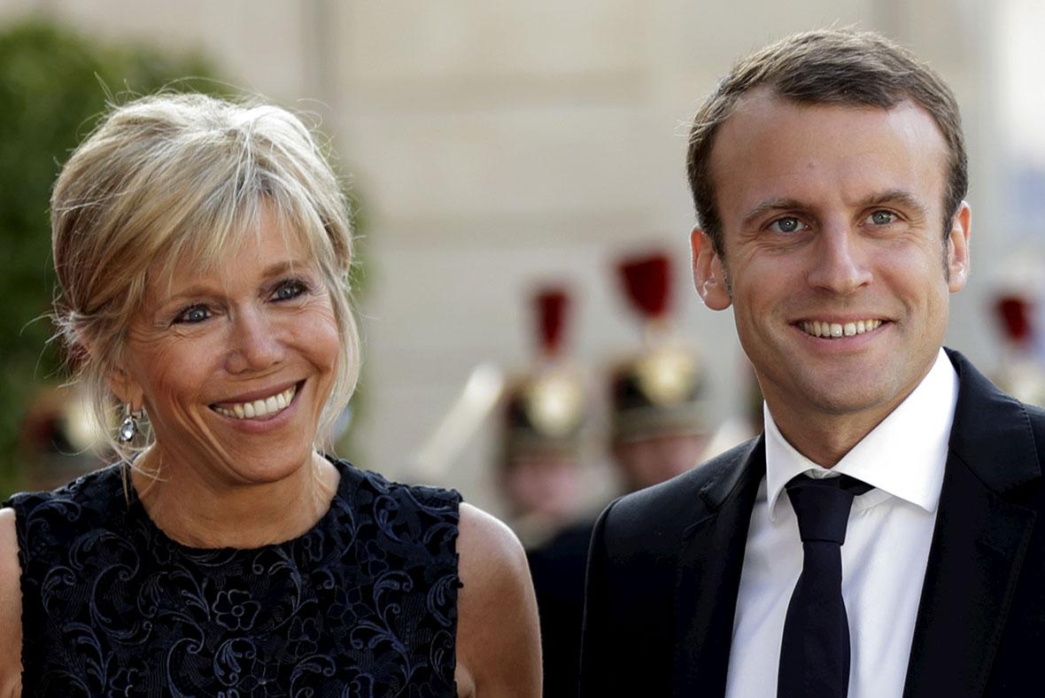 法國現任總統馬克宏比他老婆小24歲