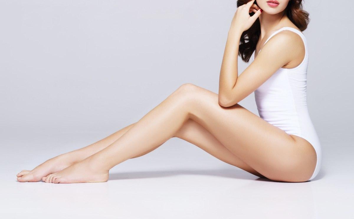 脂肪部分使用超音波輔助抽脂(超音波溶脂)瘦大腿效果很好