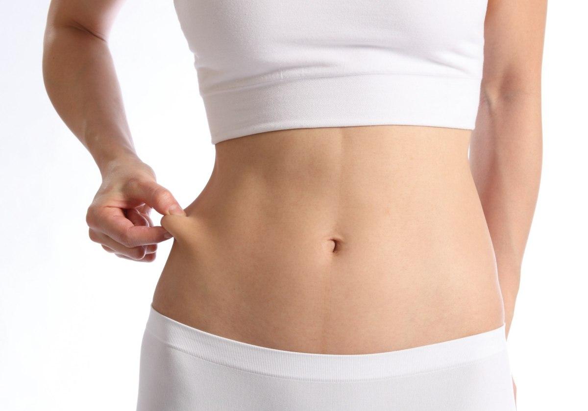 「掐指試驗」可測試小腹皮下脂肪的厚度